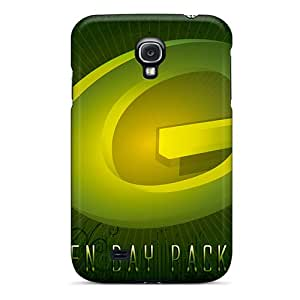JonBradica Samsung Galaxy S4 Anti-Scratch Hard Cell-phone Cases Allow Personal Design Fashion Green Bay Packers Pattern [zEm20024edXv]