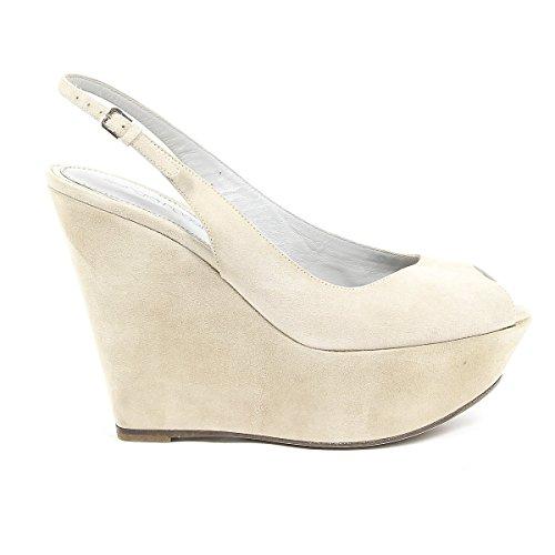 Sergio Rossi Zapatos de Vestir Para Mujer Beige Beige It - Marke Größe