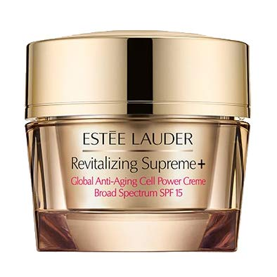 - Estée Lauder Revitalizing Supreme+ Global Anti-Aging Cell Power Creme SPF 15, 1 oz / 30 ml