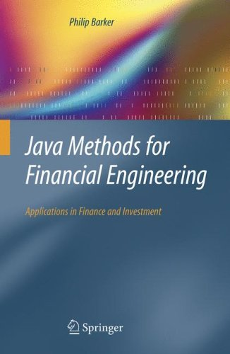 Java Methods for Financial Engineering: Applications in Finance and Investment
