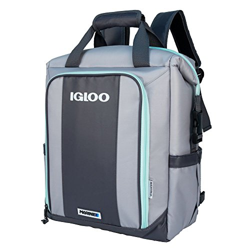 Igloo Switch Marine Backpack-Gray/Seafoam, Grey