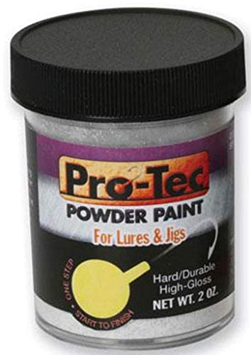 Pro-Tec Fishing Jig Lure Powder Paint Glow 2 oz