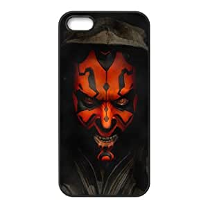 Star Wars Pattern Design Solid Rubber Customized Cover Case for iPhone 4 4s 4s-linda673