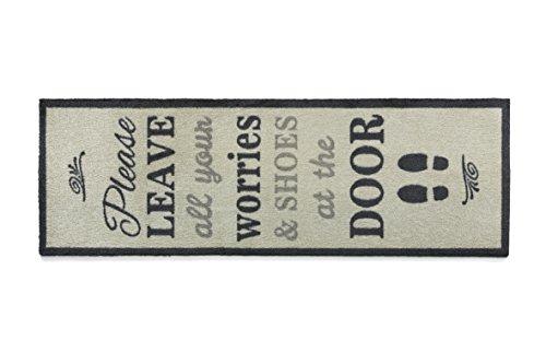 "Price comparison product image Muddle Mat T470 59 x 20"" Word 1 Nylon Indoor Runner"