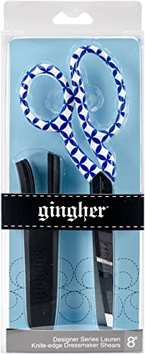Gingher RH Shears Lauren Designer Dressmaker, - Scissors Sewing Gingher