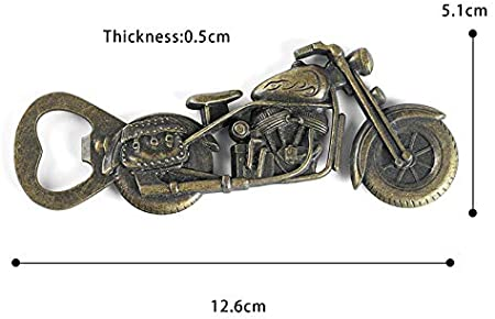 Abrebotellas Motocicleta, Metal Motocicleta Abrebotellas de Cerveza, Sacacorchos de Moto Cerveza, Motocicleta Abridor de Botellas, Abrebotellas de Metal para Fiesta de Bar, Regalos para Hombres