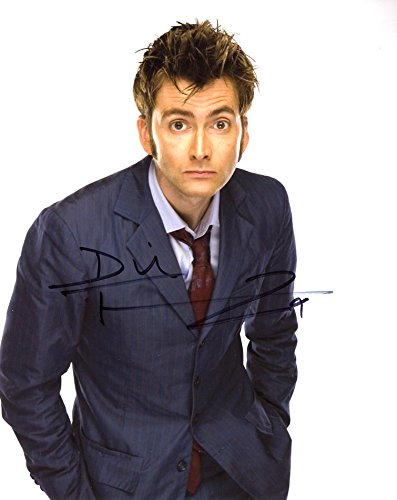 David Tennant DR. WHO In Person Autographed Photo by Ed Bedrick Autographs