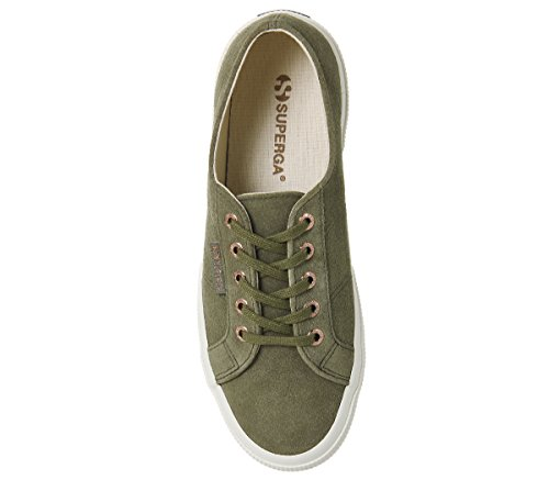 2750 Aloe S003I10 COTUSHIRT Superga Sneaker Suede Erwachsene Green Unisex Exclusive Y5ndqxAH