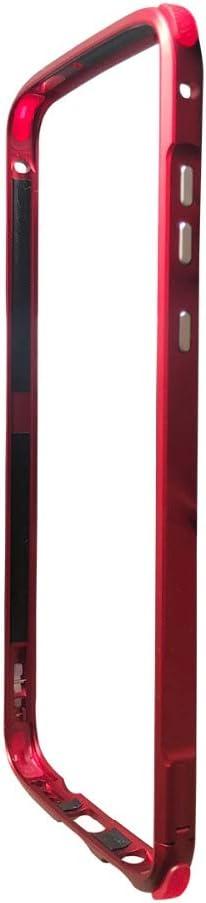 Moto Z4 Bumper,Case Compatible with Moto Mods Vitodo Aluminum Metal 4 Corner Rubber Shockproof Frame Cover for Motorola Moto Z4/z4 Play (Red)