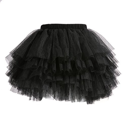 Baby Girls' Tutu Skirt Toddler 6 Layered Tulle Tutus 1-8T for $<!--$15.99-->