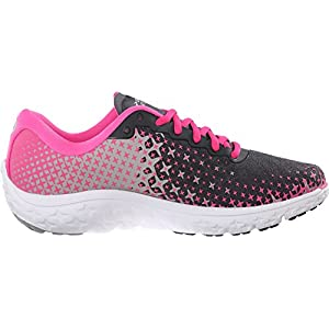 Brooks Women's PureFlow 5 Anthracite/Pink Glow/Alloy Sneaker 6 B (M)