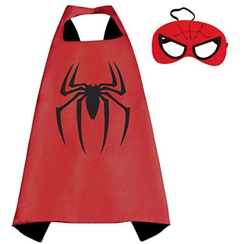 Marvel Comics Costume - Spiderman Cape and Mask
