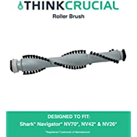 Replacement for Shark Navigator Roller Brush Fits NV70, NV42, NV26, Deluxe, NV356E & NV42, by Think Crucial