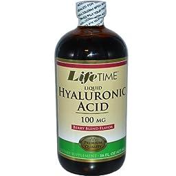 Hyaluronic Acid 100mg LifeTime 16 oz Liquid