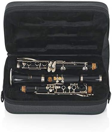 Gator GL-CLARINET-A - Estuche para clarinete, color negro, Clarinete Sib: Amazon.es: Instrumentos musicales