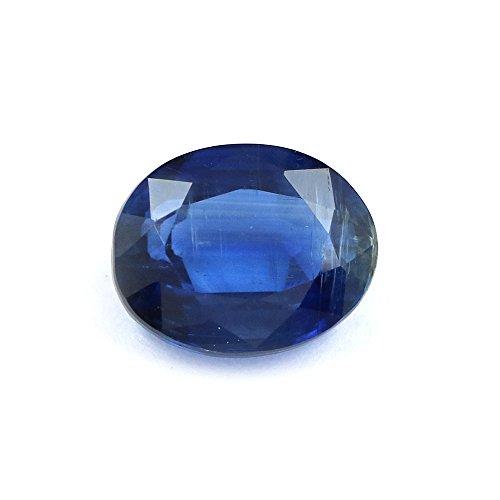 4.19 TCW 100% Natural Kyanite Oval Blue Gem Nepal Top Lustre By DVG
