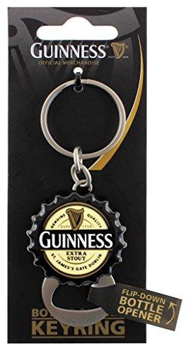 (Guinness Flip Down Bottle Opener Keyring)