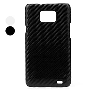 conseguir Carcasa de Plástico y Fibra de Carbono para el Samsung Galaxy i9100 - Colores Surtidos , Negro