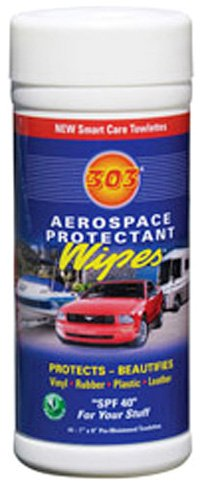 303 (30305) Marine UV Protectant Spray for Vinyl, Plastic, Rubber, Fiberglass, Leather & More – Dust and Dirt Repellant - Non-Toxic, Matte Finish
