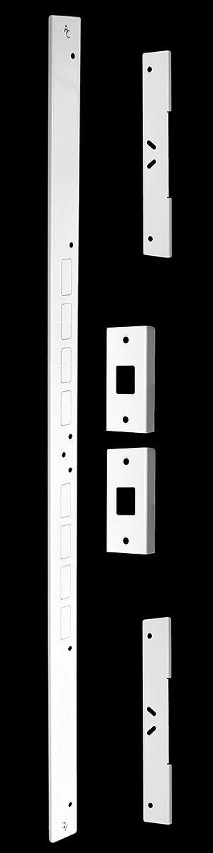 Armor Concepts FAJ-EXT-20000 Fix-A-Jamb Ii, Exterior, White, 48'', 44.25'' x 1.5'' x 2.5''