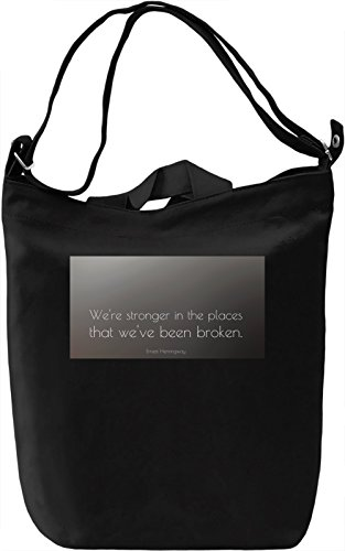 We Are Stronger Borsa Giornaliera Canvas Canvas Day Bag| 100% Premium Cotton Canvas| DTG Printing|