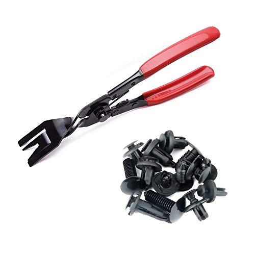 EEFUN 3 Piezas Juego de Alicates de Clip y Fastener Remover, Desmontar Kits para Panel Clip Puerta Panel Video Audio Dash, Herramienta Pry Instalador: ...