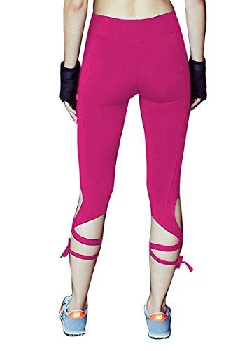 Pink Queen Leggings Workout Bandage