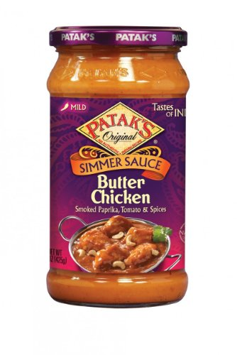 Patak's Butter Chicken Sauce, 15-Ounce (Pack of 6)