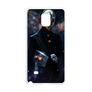 Mystery Spaceman Samsung Galaxy Note 4 Cell Phone Case White DIY GIFT pp001_8119112