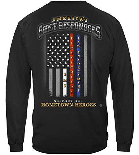 Fashion Police Halloween Edition (First Responders T Shirt - Thin Thin Red Line - Thin Red Line Long Sleeve Shirts)
