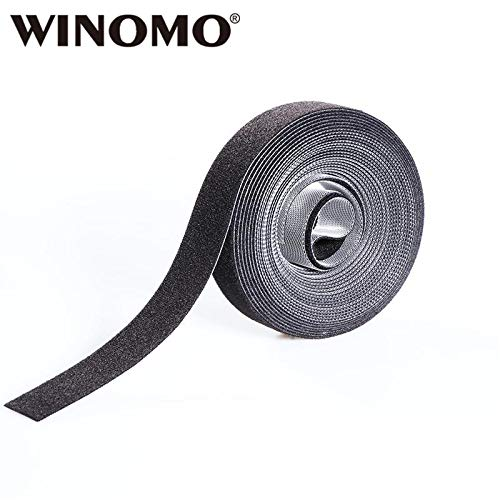 Shoppy Star WINOMO Hook and Loop Fasteners Straps Adhesive Reusable Fastening Ties for Plants Flowers Twig Organizer Management