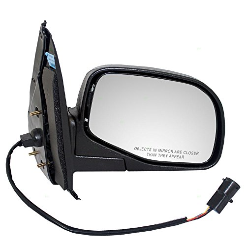 Passengers Power Side View Mirror with Puddle Lamp Replacement for Ford Mercury SUV F87Z17682AAA AutoAndArt