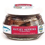 Matjes Herring Tibits in Spiced Sauce - Skansen - 6 oz - 2 pack
