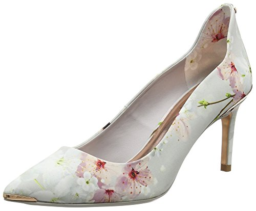 TED Heels Womens Blossom Toe VYIXIN Oriental Closed Baker AwAqUXPr
