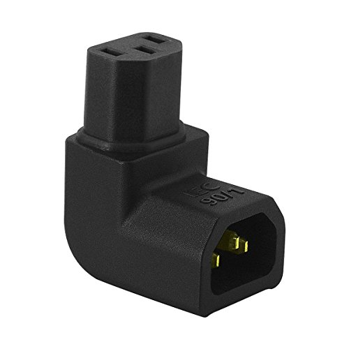 AudioQuest IEC901 Female to Right-Angle Male IEC Adapter