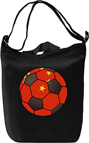 China Football Borsa Giornaliera Canvas Canvas Day Bag| 100% Premium Cotton Canvas| DTG Printing|