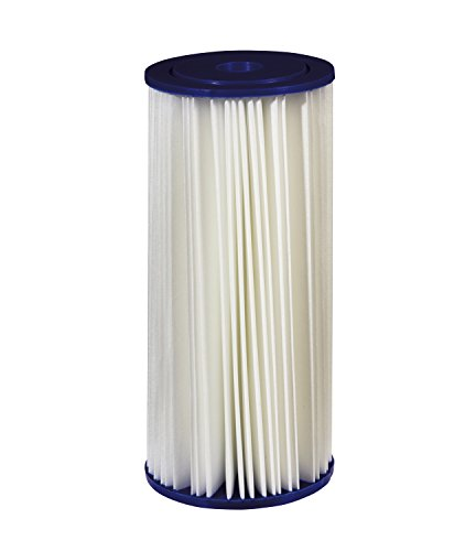 Filtrete Large Capacity Pleated Whole House Water Filter, Sump Style, Reduces 30 Microns Sediment, 1-Pack, (Sediment Drinking Water)