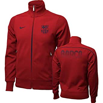 FC Barcelona Red Nike Authentic N98 Jacket (S)
