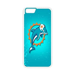Miarei Dolphins iPhone 6 Plus 5.5 Inch Cell Phone Case White Y1061623
