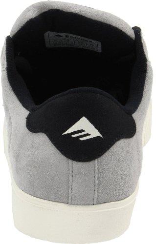 Emerica THE LEO 6102000065, Unisex - Erwachsene Sportschuhe - Skateboarding Grau (grey/navy/white)