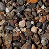 Carib Sea ACS05845 5/5-Pound Blue Ridge Gravel for Aquarium, 1/4-Inch
