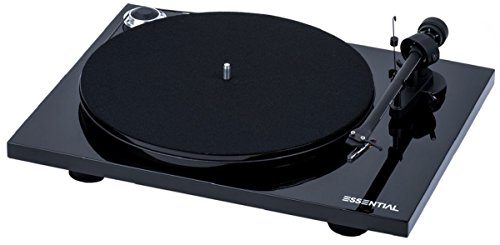 Pro-Ject Essential III Bluetooth Turntable - Gloss Black wit