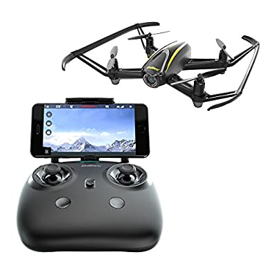 U31W Realtime FPV Drone w/ Altitude Hold | Speed + Remote Control | Easy to Fly | Emergency Stop | Low battery and Out of Range alarm | Custom flight route mode by UDIRC