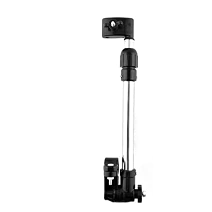 Gosear Barra de Paraguas de Giratoria de ángulo Ajustable Conector Clip Pinza para Bebé Silla de