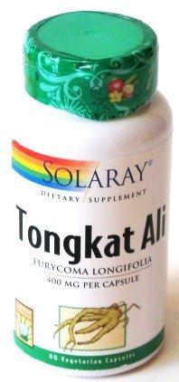 Solaray Tongkat Ali Root 400 mg VCapsules, 60 Count