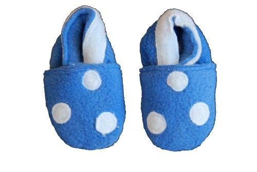 Daisy Roots Baby Boy lavable azul zapatillas de (talla 0–