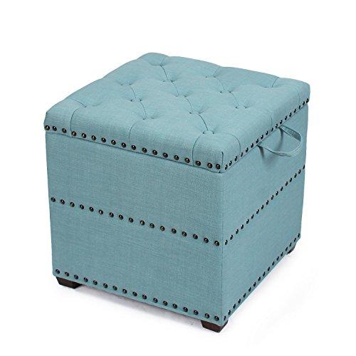 Amazon Com Homebeez Euro Style Fabric Bench Ottoman