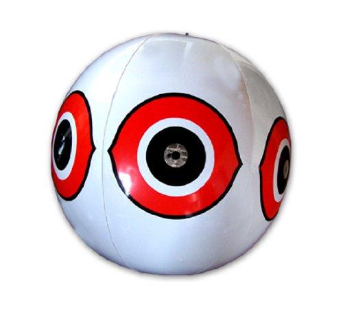 Bird-X Scare-Eye Bird Repellent Predator Eyes Balloon, White]()