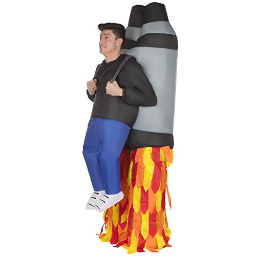 (Morph Men's Jetpack Pick Me Up Inflatable Blow Up Costume, Adults, One)