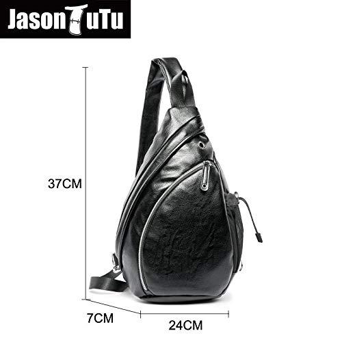 a70840b1b Amazon.com: Men Messenger Bags pubg Mobile,Man Bag Shoulder Black PU Leather ,Crossbody for Chest handtas sacoche B635: Kitchen & Dining